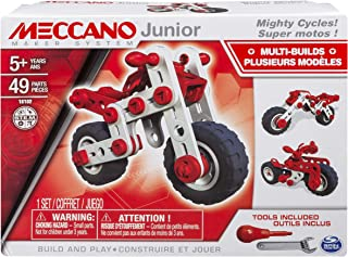 MECCANO-Erector Junior, 3 Model Building Kit, Mighty Cycles