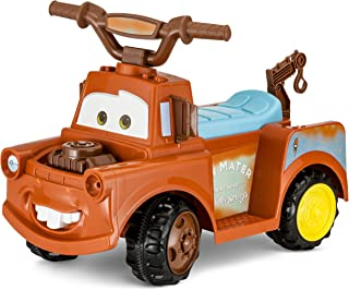 Cars KT1193I Towmater 6V Electric Ride On, Brown