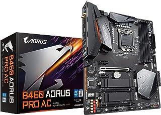 Gigabyte B460 AORUS PRO AC (LGA1200/Intel/B460/ATX/Dual M.2/SATA 6Gb/s/USB 3.2 Gen 2/Intel 802.11ac/2.5 GbE LAN/DDR4/Mothe...
