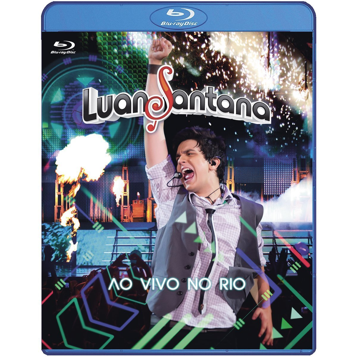 Luan Santana - Our shop most popular Long Beach Mall Ao Rio No Vivo Blu-ray