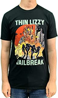 Thin Lizzy T Shirt Bad Reputation Band Logo Nouveau Officiel Homme