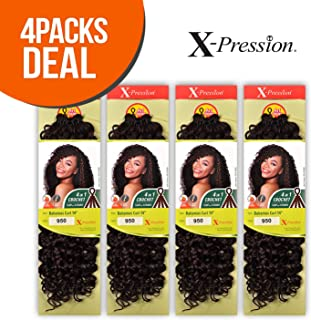 Outre Synthetic Hair Crochet Braids X-Pression Braid 4 In 1 Loop Bahamas Curl 14