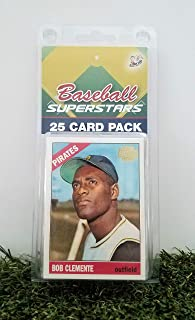 Pittsburgh Pirates- (25) Card Pack MLB Baseball Different Pirate Superstars Starter Kit! Comes in Souvenir Case! Great Mix of Modern & Vintage Players for the Ultimate Pirates Fan! By 3bros