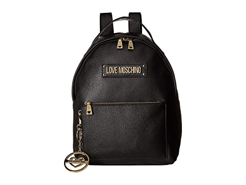 LOVE Moschino Classic Leather Backpack