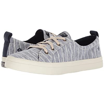 Sperry Crest Vibe Painterly Stripe (Navy) Women