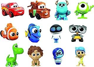 Mattel Disney Pixar GMC43 minifigurer (1 styck), slumpmässigt urval, samlarfigurer, leksaker från 3 år, flerfärgad