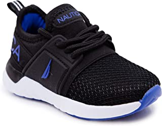 Kids Boys Lace-Up Fashion Sneaker Breathable Athletic...