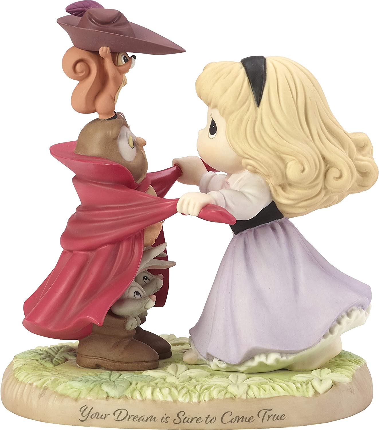 Precious Moments Disney Showcase Collection Your Dream is Sure to Come True Sleeping Beauty Bisque Porcelain 183072 Figurine One Size Multi