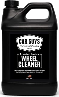 CAR GUYS Wheel Cleaner Gallon - Rim and Tire Cleaner for Brake Dust and Grime - Safe for Alloy, Chrome, Aluminum, and More...