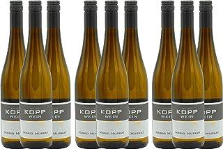 9 Flaschen 2019er Morio-Muskat Kabinett Weißwein lieblich 0,75l, direkt vom Erzeuger: Weingut Kopp in Ranschbach