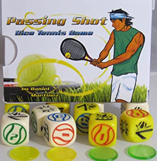 Impact! Miniatures Passing Shot Dice Tennis Game