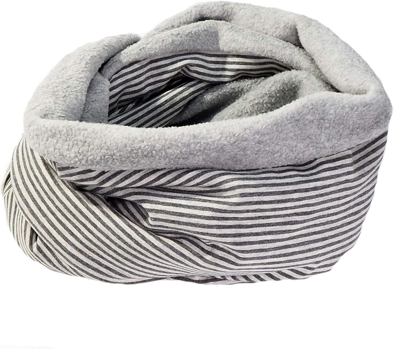 UNISEX-Loops aus Baumwolle kuschelweich innen mit Sherpa-Fleece beckys pur nature