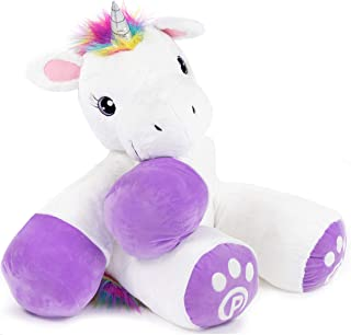 scary stuffed unicorn toy