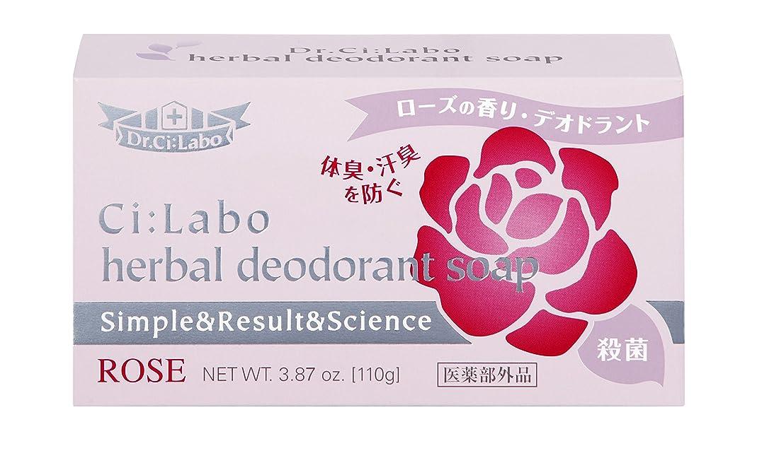 ブレス割り当てる慰めドクターシーラボ 薬用ハーバルデオドラントソープ 石鹸 110g