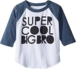 Chaser Kids - Vintage Jersey Cool Big Bro Tee (Toddler/Little Kids)
