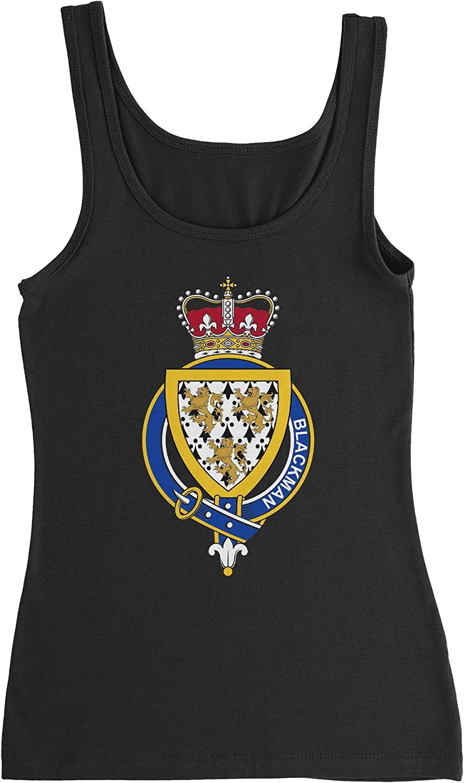 HARD Max 50% OFF EDGE Popular DESIGN Women's English Garter Family T-Shirt Blackman
