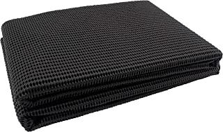 Antirutschmatte 120 x 100 cm abwaschbar zuschneidbar Farbe schwarz passend f/ür PKW Kofferraum Boot Wohnwagen sowie im Haushalt und als Teppichstopper