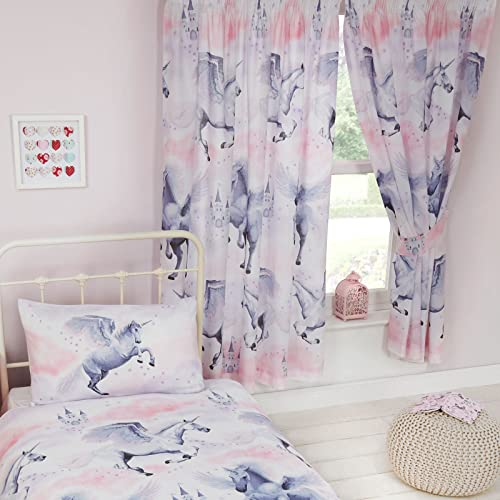 Unicorn Curtains Amazon Co Uk