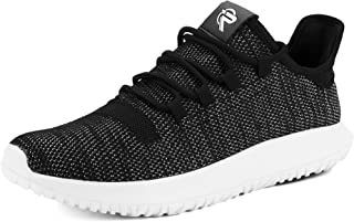 recorrer Captivate Men's Black Lace-Up Casual Black Sneaker Shoes