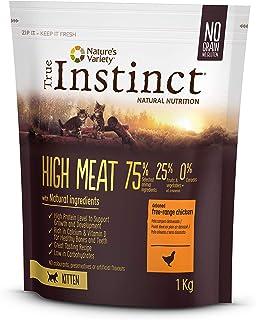 True Instinct High Meat Kitten - Nature's Variety - Pienso para gatitos con pollo deshuesado 1kg