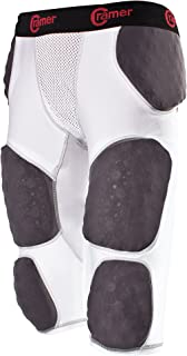 Cramer Thunder 7 Pad Football Girdle with Integrated Hip, Thigh and Tailbone Pads,