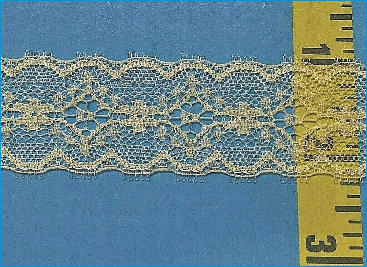 Alina Max 71% OFF Natetkova : Scalloped Popular shop is the lowest price challenge Trim Double Lace