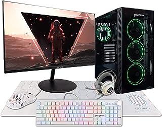 PeriphioSub-Terra Gaming PC Computer, Intel Core i5 6500, Integrated HD Graphics, 16GB DDR4 RAM,...