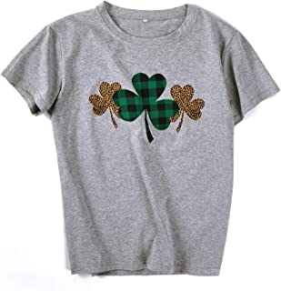 Graphic Tees for Women Short Sleeve Summer Shirts Letter Print Trendy Tops