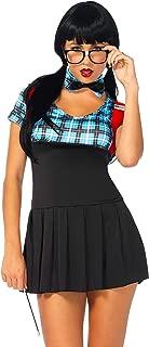 Women's 4 Piece Naughty Nerd Costume