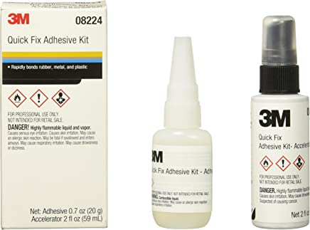 3M 08224 Automix Quick Fix Adhesive Kit - 0.7 oz. Adhesive and 2.0 oz.