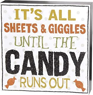 Blossom Bucket It's All Sheets and Giggles Wall Box Sign