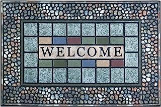 CHICHIC Entrance Door Mat Large 24 x 36 Inch Entry Way Doormat Front Door Rug Outdoor Heavy Duty Welcome Mat, Non Slip Rub...
