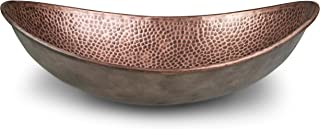 Monarch Abode 17086 Pure Copper Hand Hammered Harbor Vessel Sink,