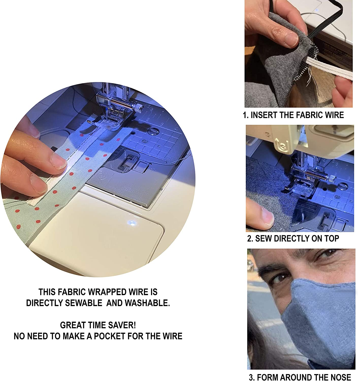 Handheld Cordless Quick Sewing Tool with 18 PCS Accessories Suitable for Clothes Curtains Denim Mini Portable Sewing Machine and DIY/… Leather