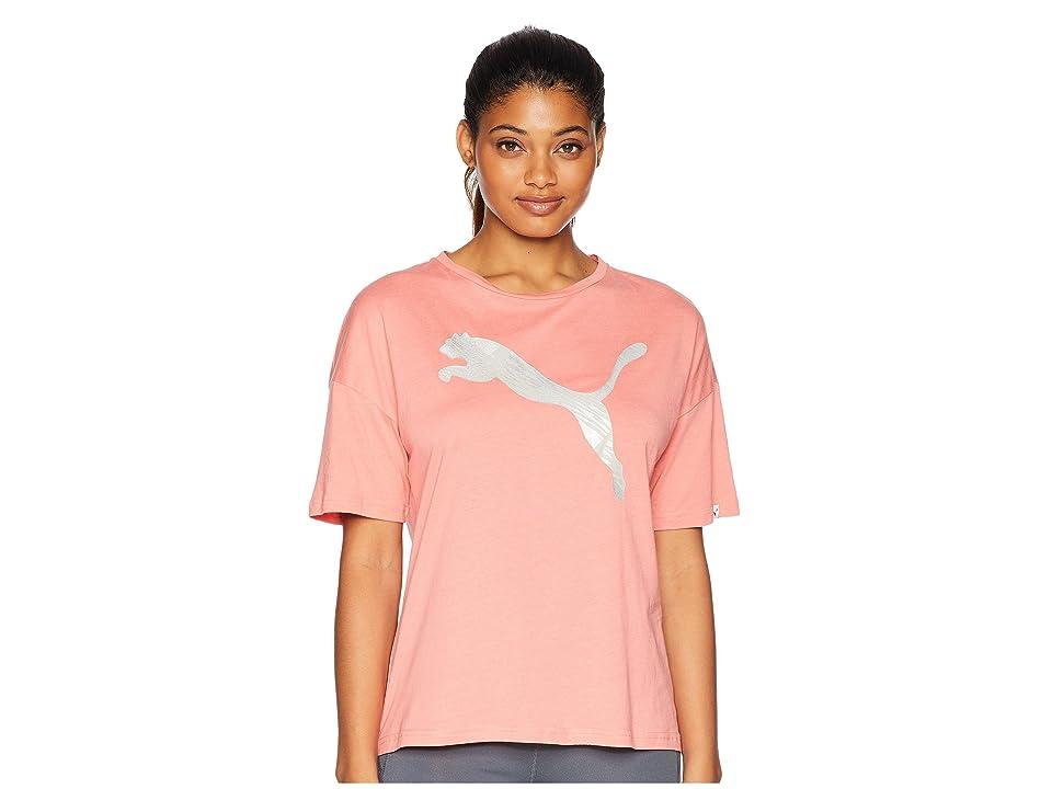 PUMA Summer Fashion Tee (Shell Pink) Women