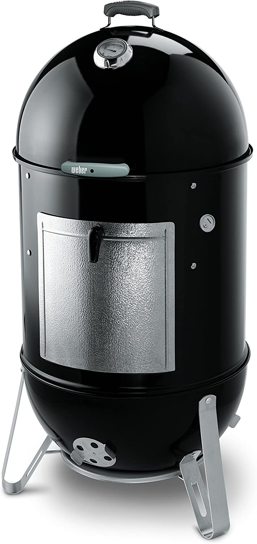Weber 731001 Smokey Mountain Cooker 22-1/2-Inch Charcoal Smoker, Black