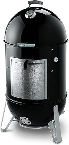 Weber-22-inch-Smokey-Mountain-Cooker,-Charcoal-Smoker