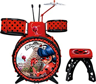 Bateria Infantil Ladybug Miraculous Vermelha