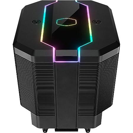 Cooler Master MasterAir MA620M Dual Tower ARGB High Performance CPU Air Cooler, 6 CDC 2.0 Heatpipes, SF120R Fan, Hexagon Strip Addressable RGB Lighting for AMD Ryzen/Intel LGA1151