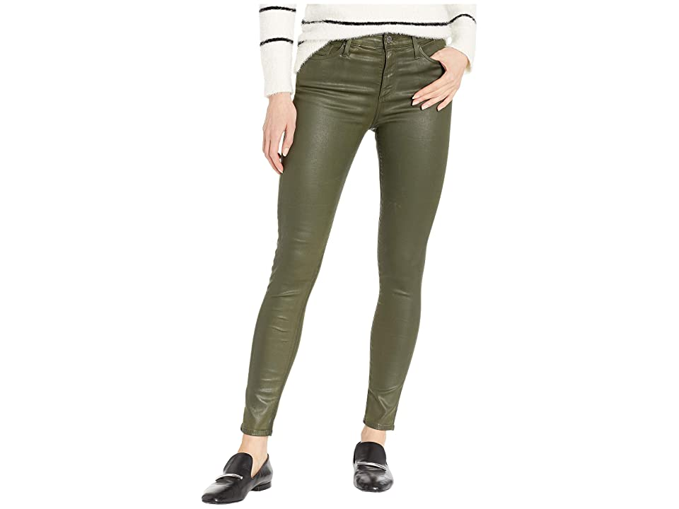 Image of AG Adriano Goldschmied Farrah Skinny Ankle in Vintage Leatherette Light Dried Agave (Vintage Leatherette Light Dried Agave) Women's Jeans