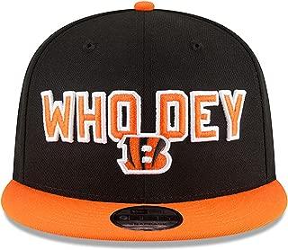 New Era Cincinnati Bengals 2018 NFL Draft Spotlight Snapback 9Fifty Adjustable Hat - Black