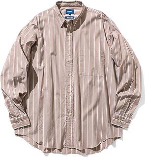 [ビームス] ワイシャツ カジュアルシャツ ストライプ イージー ミニレギュラー シャツ メンズ