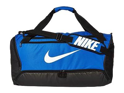 Nike Brasilia Medium Duffel 9.0 (Game Royal/Black/White) Bags