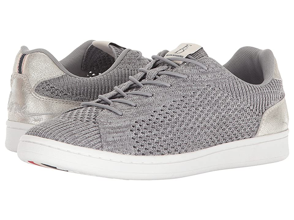 ED Ellen DeGeneres Casie (Silver/Dark Silver Worn Metallic/Knit) Women