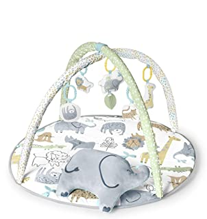 Carter's Safari Baby Play Mat & Infant Activity Gym, Multi