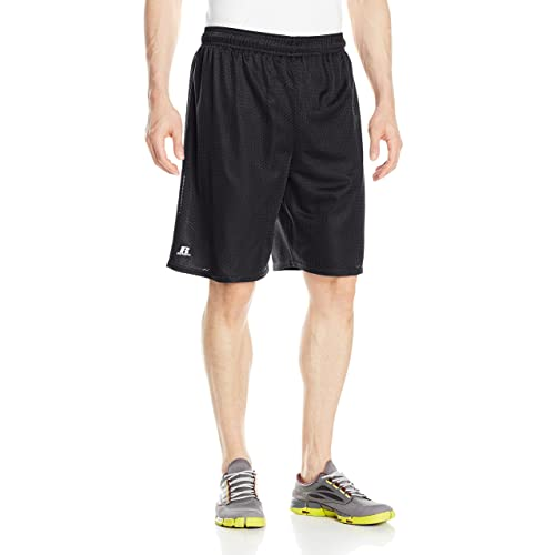 442c8e9e9d314 Russell Athletic Men s Mesh Shorts (No Pockets)