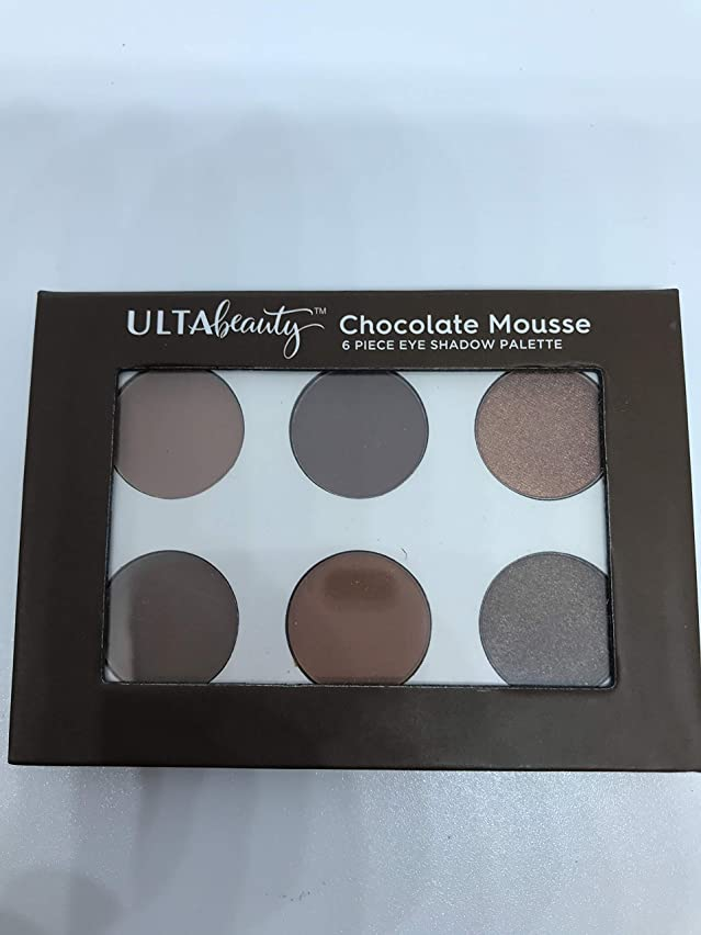 Chocolate Mousse 6 piece Eyeshadow Palette