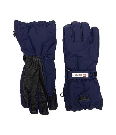 LEGO Kids Snow Gloves with Anti-Slip Grip Membrane (Little Kids/Big Kids) (Dark Navy) Over-Mits Gloves