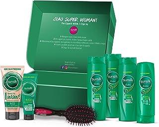 Sunsilk Ricci da Domare, Beauty Box Regalo per Capelli Ricci con 3 Shampoo, 1 Balsamo (200 ml), 2 Trattamenti Intensivi 1M...