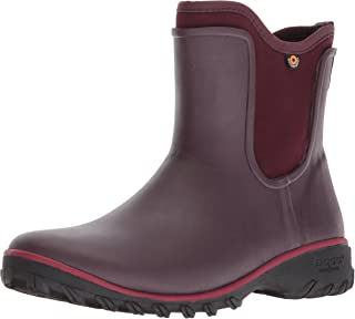 Bogs Womens Sauvie Slip on Boot Solid